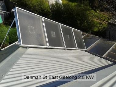 Denman St, East Geelong 2.8KW SAM40