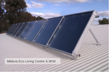 Mildura Eco Living Centre array