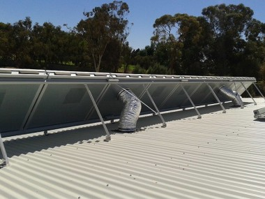 Mildura Eco Living Centre back of array2
